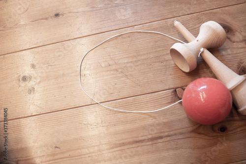 剣玉の背景素材 Fototapet
