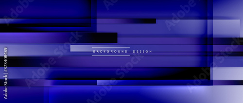 Dynamic lines on fluid color gradient Fototapet