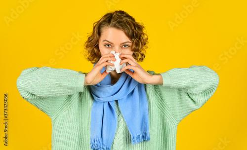 Fotografia Influenza infection