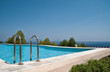 canvas print picture - pool