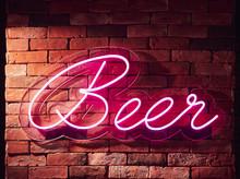 Beer Neon Sign Bar Restaurant Front Shop Decoration