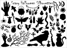 Halloween Set With Traditional...