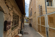 An Empty Street In The Nachlao...