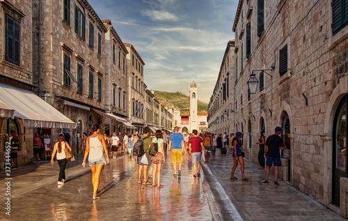 Fototapeta Dubrovnik ciudad monumental