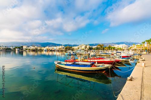 Foto Beautiful harbour view in Kos Island