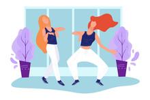 Modern Dance, Teenage Girls Pe...