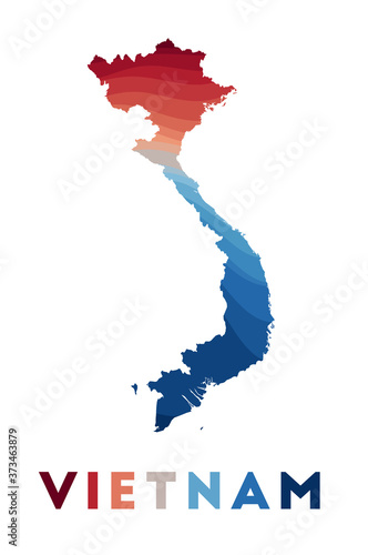 Photo Vietnam map