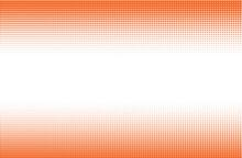 Orange Dots On White Background