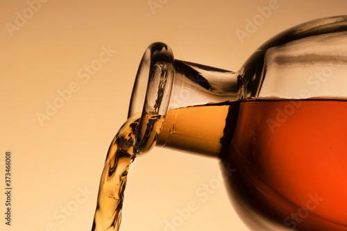 Fotografiet a bottle of whiskey, Bourbon, or liqueur
