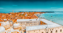 Panoramic View Of Venice From ...