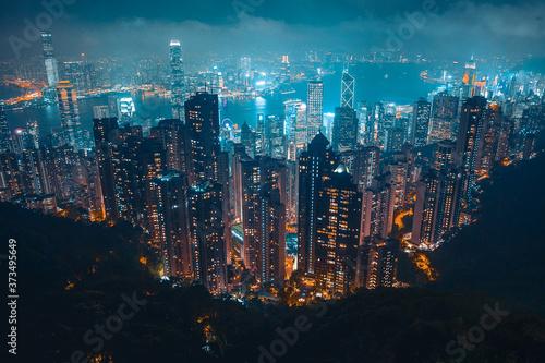 Fotografie, Obraz 香港夜景