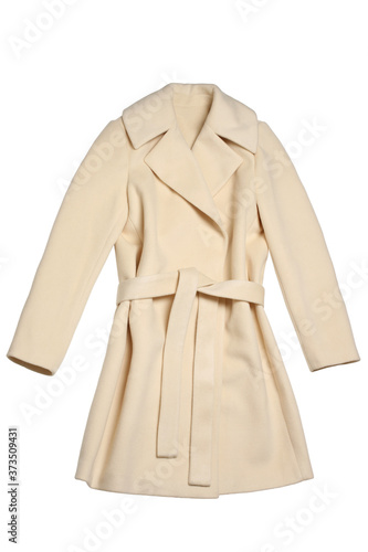 Obraz Female heavy overcoat - fototapety do salonu