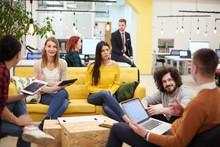 Team Meeting And Brainstorming