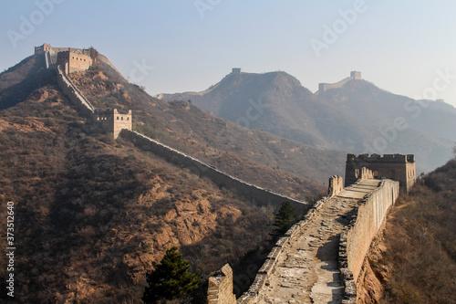 great wall of china jinshanling Fototapet