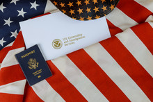 USA Passport Over Letter From ...