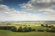 Impressive views across the countryside