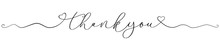 Thank You Calligraphy Font Han...