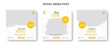 Yellow And White Social Media ...