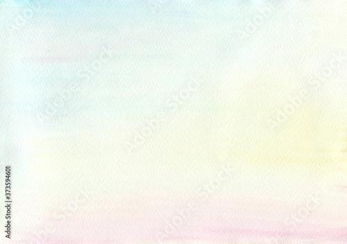 Fotografie, Obraz 水彩 背景 テクスチャー