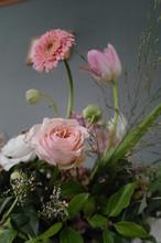 A Beautiful Flower Basket Full Of Fragrance