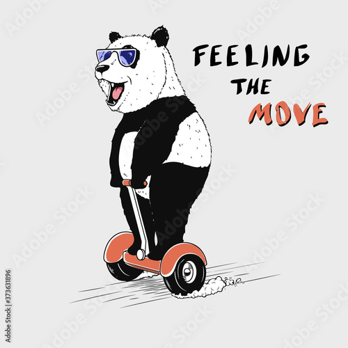 feeling the move