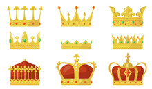 Royal Crown Set. King Or Queen...