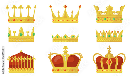 Photo Royal crown set