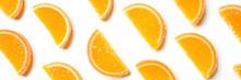 Citrus Jelly Slices In Sugar. ...