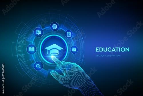 Education Fotobehang