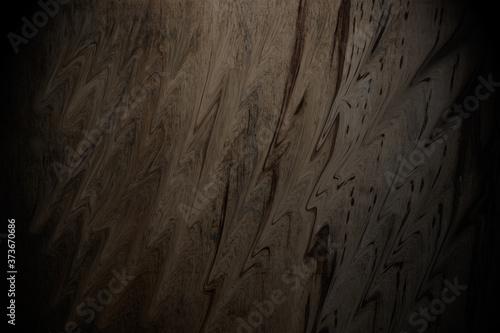 Dark old wood skin background Wall texture and floor background Billede på lærred