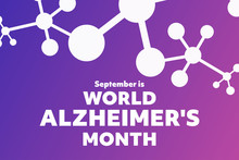 September Is World Alzheimer's...