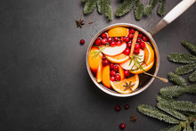 Mulled Wine With Cinnamon, Cra...