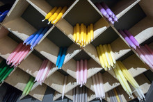 Multicolored Candles For The I...