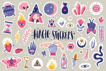 Magic Icons Doodles Stickers
