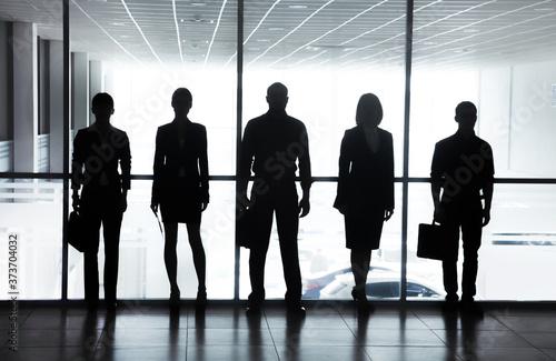 Fotografia business people in office