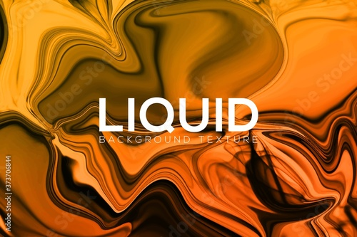 Fényképezés Abstract liquid watercolor texture pattern background template design and marble