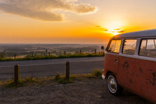 Solo Travel Road Trip Sunset Adventure