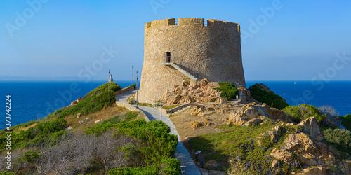 Fotografia, Obraz Italy, Sardinia, Northern Sardinia, Santa Teresa di Gallura, Torre di Longonsardo tower