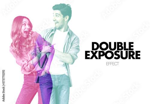 Fototapeta Double Exposure Effect