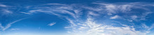 Panorama Of Sky With Clouds Wi...