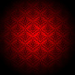 canvas print picture - baroque red wallpaper background