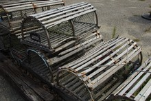 Lobster Traps In Newburyport M...