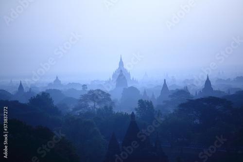 Canvas Bagan Landscape, Myanmar