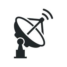 Dish Antenna Icon