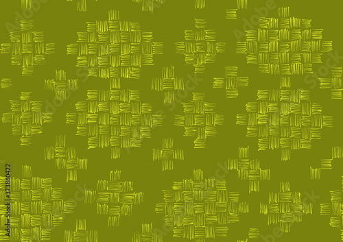 Fototapeta Linear Squares Green
