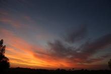 Sonnenuntergang In Hohenfelde ...