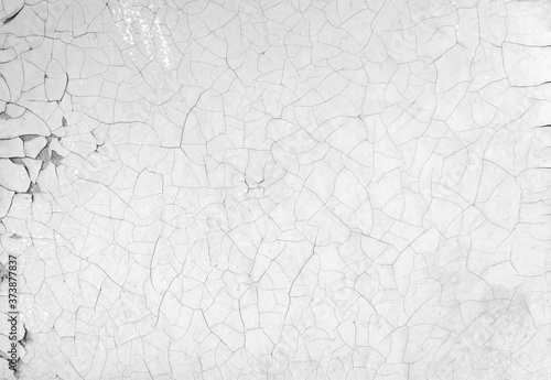 Old background with peeling paint cracks and chips Fototapete