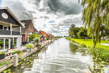 Village View From Grote Brug, ...