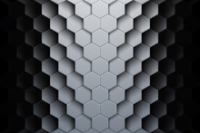 Abstract Hexagon Shapes Backgr...