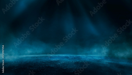 Fotografie, Obraz Dramatic dark background